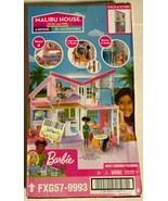 New Barbie Estate Malibu House Playset With 25 Plus Themed Accessories - $92.35