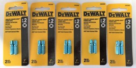 Dewalt DW2690 #2 Phillips Square Drive Power Screw Tips 5 (2PKS) - $5.94