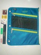 Five Star Mead Tri-Compartment 3 Ring Binder Pencil Pouch