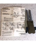 TRANSFORMERS VINTAGE ROBOT FIGURE HASBRO BRUTICUS INSTRUCTIONS MISSILE L... - $19.75