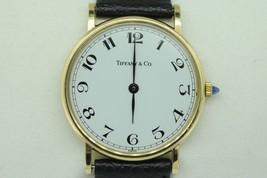 "TIFFANY & CO. 14K Yellow Gold Mid-Sized Quartz Watch (""NEW""-T&Co Band) - $1,125.00"
