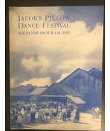 jacob's pillow dance festival, souvenir, program, 1955 - $24.75