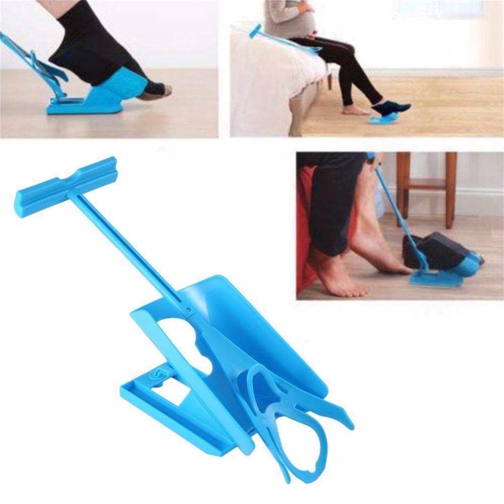 Sock Slider Helper Easy On Easy Off Aid Kit Puller For Pregnancy Kids Home Tool