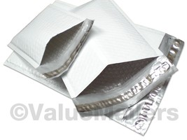 """200 #00 (Poly) 5x10 Bubble Mailers Padded Envelopes Mailer Bags 5 """" x 10"""" - $26.95"""