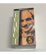 Agatha Christie's Hercule POIROT Collector Set 5 VHS 3 Tapes Box Set NEW... - $13.85