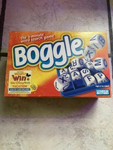 Boggle the 3 Minute Word Search Game by Parker Brothers 1999 - $12.16