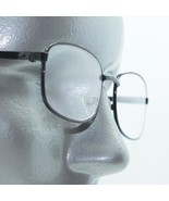Reading Glasses Simple Black Metal Traditional No Fuss Frame +3.00 Lens - $18.00