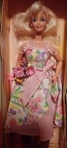 1996 Mattel Avon Exclusive Spring Petals Caucasian Blonde Barbie Doll - $19.31