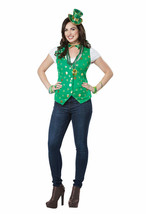 California Costumes Lucky Lady Kit Saint Patricks Womens Halloween Costu... - $19.03