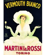 3496.Martini Rossi Vermouth liquor wine POSTER.Italian art.Room Home Bar... - $10.89+