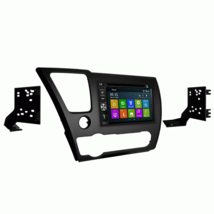 DVD GPS Navigation Bluetooth Multimedia Radio and Dash Kit for Honda Civ... - $306.78