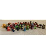 SQUINKIES Lot 50+ Disney Marvel Superheroes Cars DC Power Rangers FREE S... - $43.53