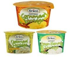 3 Grace Instant porridge Assorted - 55g  Each - $9.89