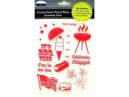 The Paper Company Summer Fun Stamp Kit #2009120 image 1