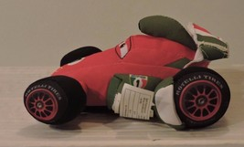 Disney Pixar CARS 2 Crash Ems FRANCESCO BERNOULLI Plush Talking Race Car... - $2.95