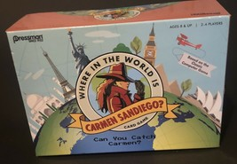 Where in the World is Carmen San Diego Card Game 2017 - $12.86