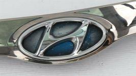 11-15 Hyundai Sonata Hybrid Hood Garnish Upper Grille Chrome Molding 86356-4R000 image 3
