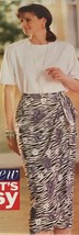 Butterick See & Sew Now Sewing Pattern 6886 Misses Top Skirt Easy Uncut - $6.29