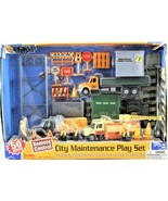 Boley City Maintenance Play Set 50 Piece Battery Operated Remote Control... - $49.49