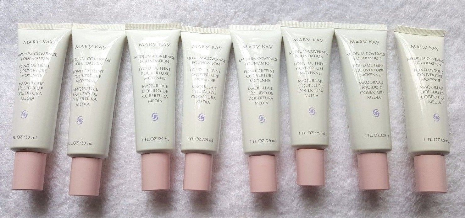 8 Mary Kay Medium-Coverage Foundation Full Size 1 Oz Each Assorted  Normal/Oily