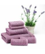 Set of 6 Towels Turkish 100% Cotton , 1 Bath, 1 Hand Towel, 4 Washcloth ... - $42.52