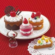 "Japanese DIY Whipple ""Fluffy Sweets Set"" Fake Sweets Key Chain Making Kit - $33.15"