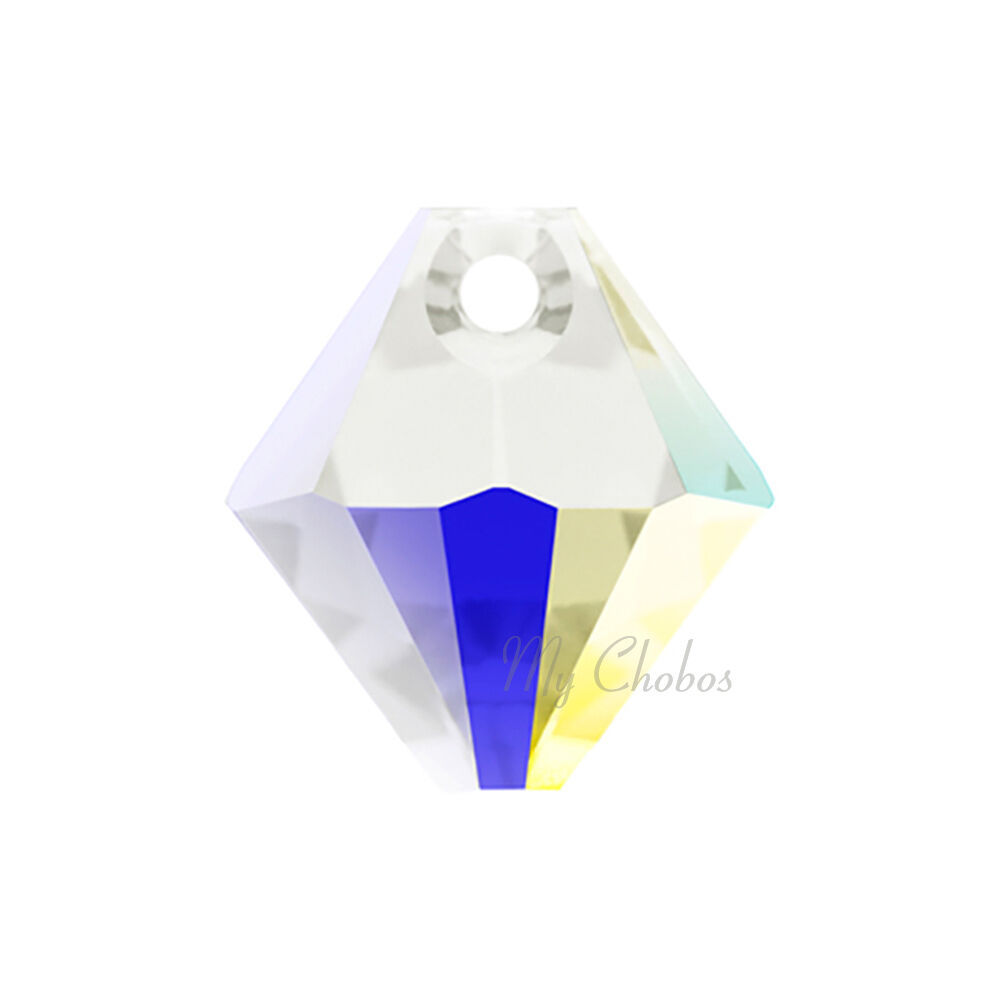 "Swarovski Pendants jewelry necklace making CRYSTAL AB (001 AB) ""Pick Your Shape"" image 7"