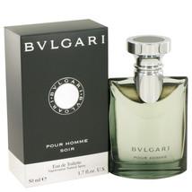 Bvlgari Pour Homme Soir by Bvlgari Eau De Toilette Spray 1.7 oz for Men ... - $57.23
