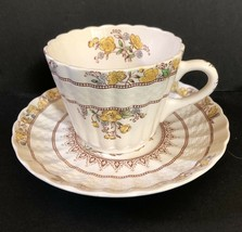 Spode Buttercup Cup & Saucer Set 2/7873 Great Condition - $9.95