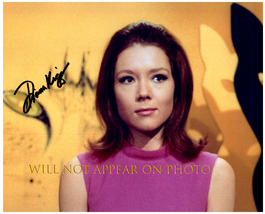 DIANA RIGG Signed Autographed 8X10 Photo w/ Certificate of Authenticity 2809 - $60.00