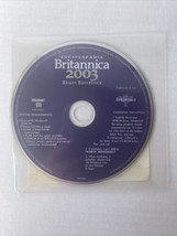 ENCYCLOPEDIA BRITANNICA 2003 READY REFERENCE. MICROSOFT WINDOWS 2000/XP I - $7.91