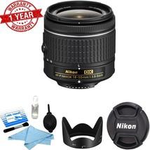 Nikon AF-P 18-55mm f/3.5-5.6G DX VR NIKKOR Zoom Lens w/ Lens Cleaning Kit - $98.01