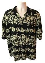 Tommy Bahama Hawaiian Vintage Short Sleeve Silk Button Down Shirt Men's Size L - $30.99