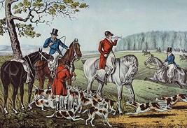 Fox Hunt by Nathaniel Currier - Art Print - $19.99+