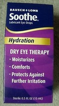 Soothe Lubricant Eye Drops Hydration Dry Eye Therapy Sterilic Soothes Ir... - $10.99