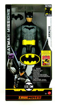 "Batman Missions True Moves DC First Appearance 80 years Batman 12"" Dete... - $34.50"