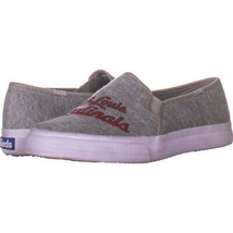 Keds 821 Slip On Sneakers, Grey Fabric 621, Grey Fabric, 7 US - $39.52 CAD