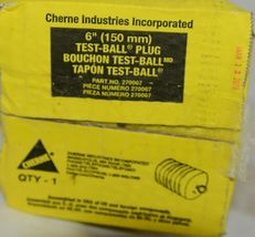 Cherne Industries 270067 Six Inch Test Ball Plug Rubber Product image 4
