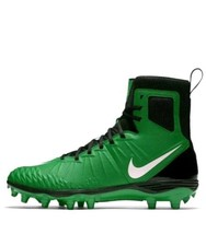 Nike Force Savage Elite Pro Green Black Cleats Shoes size 10 $139 88014... - $42.74