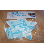 Baby Boys 1st Birthday Cutout Decorations 30 Pieces Blue Stars New - $15.00