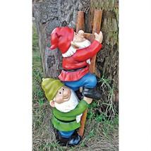 "12"" Santa's Little Helpers Elf Magic Climbing Ladder Garden Gnome Statue - €42,83 EUR"