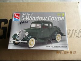 AMT 1934 5-Window Coupe 1/25 scale - $36.99