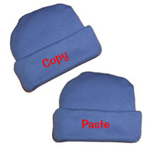 Preemie & Newborn Copy and Paste Hats for Twins
