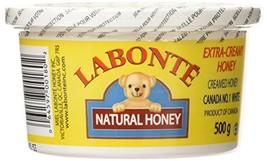 Labonte Extra Creamy Creamed Natural Honey 4 x 500g Canada  - $69.99