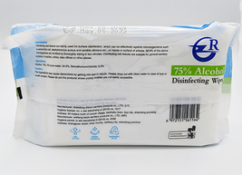 Alcohol Wipes 75% (packs of 60) - $1.99