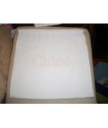 Chloe' 12x10 Storage Pouch, Dust Bag, Purse Holder, Drawstring, White C... - $12.86