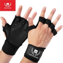 Mava Sports Ventilated Workout Gloves with Integrated Wrist Wraps and Fu... - $12.97