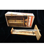 Groove Move Jr - Wood & Steel Ball Game. 1971 Vintage with Original Box - $7.50