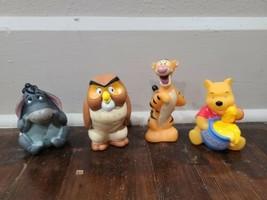 Disney Parks Winnie the Pooh - Pooh, Owl Tigger and Eeyore Pool Bath Toy... - $14.50
