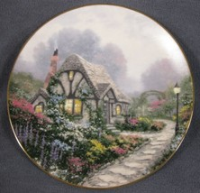 Chandler's Cottage Thomas Kinkade Garden Cottages of England Collector P... - $24.95